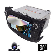 HD CAR DVD GPS HEADUNIT NAVIGATION FOR Toyota Rav4 2006-2012 Free Camera
