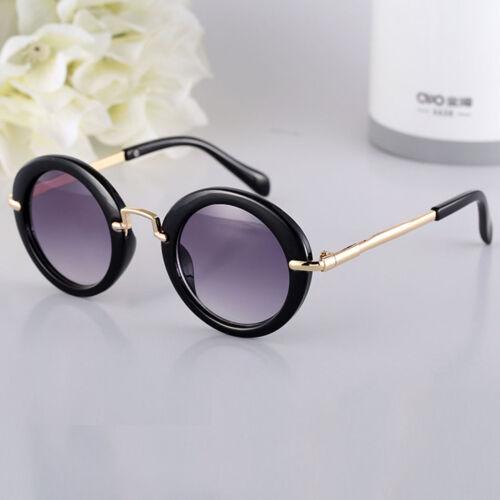 New Hot Goggles Metal Glasses Kids Girls Boys Anti-UV Wild Fashion Sunglasses