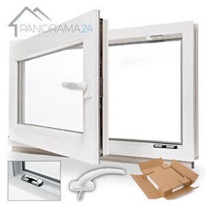 Kellerfenster-Kunststoff-Fenster-Dreh-Kipp-alle-Groessen-Qualitaeten-LAGERWARE