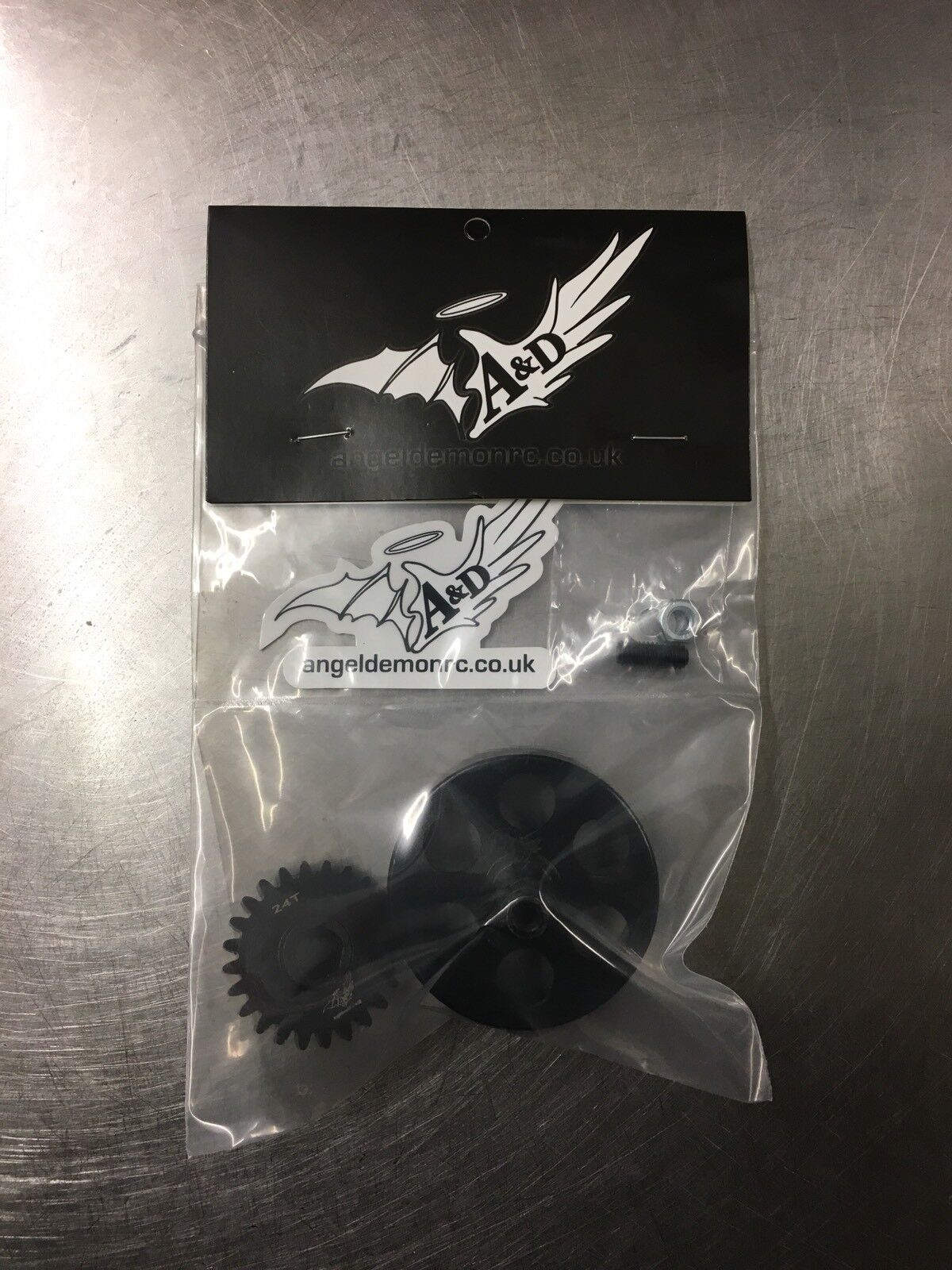 Losi Dbxl Angel & Demon Racing 21T pinion gear with clutch bell Only