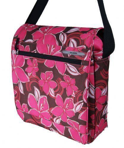 Registro de despacho Floral espacioso Bolsa Exterior magnético botón Tablet Bolso De Mano 4397 F