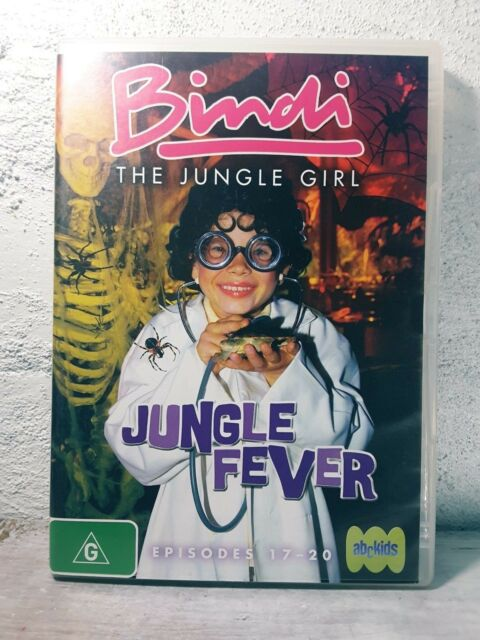 Bindi the Jungle Girl: Jungle Fever DVD - Region 4  Episodes 17- 20