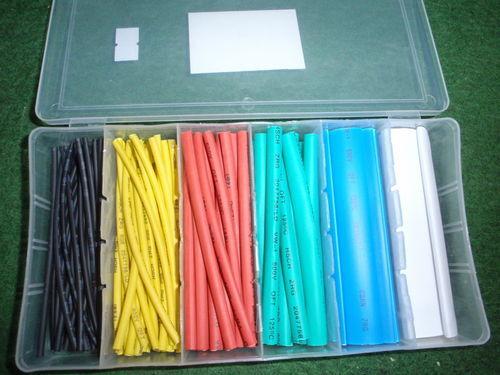 Más colorido schrumpfschlauch Mix 2,5-15mm surtido con aproximadamente 100 unidades 16293a