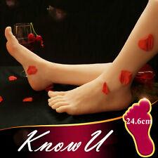1pc Lifelike Silicone Model Mannequin Legs Display Female Feet 246cm