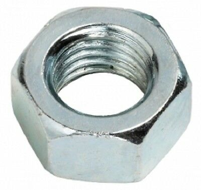 #6 Hex Machine Screw Nuts 6-32 Zinc Plated 1//4 Hex 4000