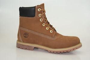 low priced 2c6ee 57927 Details zu Timberland Icon 6 Inch Premium Boots Waterproof Damen  Schnürstiefel 10360
