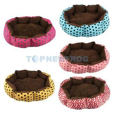 Soft Flannel Pet Dog Puppy Cat Kitten Warm Bed House Cozy Nest Mat Pad