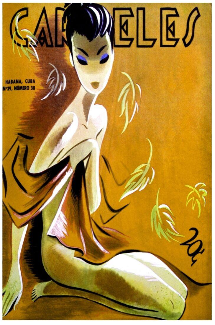 7536.Decoration Poster.Asian Oriental fashion model.Home room interior design 2