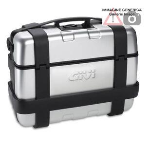 Valigia-Monokey-Trekker-nera-33-Lt-con-finitura-in-alluminio-anodizzato-GIVI