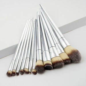 LC-12Pcs-Soft-Cone-Brushes-Powder-Concealer-Cosmetic-Makeup-Brush-Set-Efficie