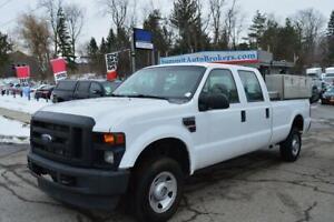 2008 Ford F 350 XL Crew Cab 4x4 Diesel