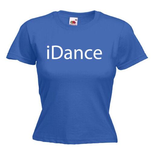 Dance Dancer Ladies Womens Lady Fit T Shirt