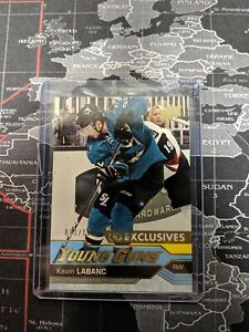 2016-17-Kevin-Labanc-UD-Young-Guns-Exclusives-486-033-100-Rookie-RC