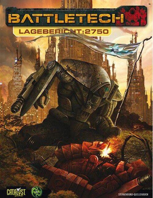 slåsstech Lagebericht 2750 (tyska) US40011 Mech Catalist spel Lab