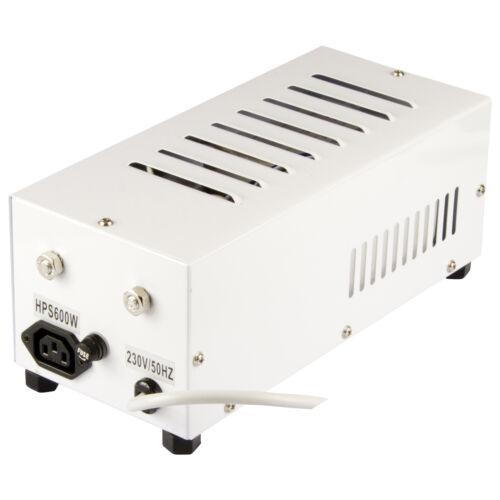 600-W 600-Watt Vorschaltgerät HortiGear Natriumdampflampe Plug/&Play NDL Grow VSG