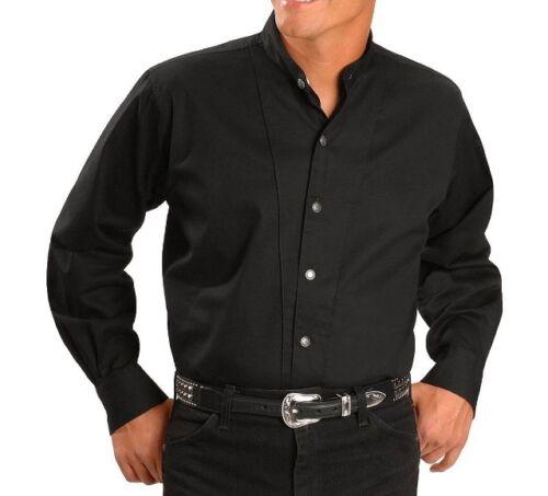 Western con nero per By Camicia uomo Outfitters colletto Cumberland colletto Cattleman da Ely UqExx0wC