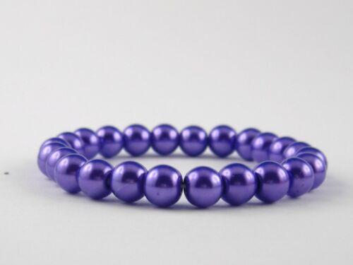 Collar de perlas o pulsera arte brillante plenamente perlas art deco estilo selector de color