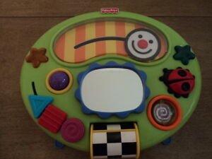 Vintage Fisher Price Developmental Interactive Smiley Face Crib Toy 2005 - Cute!