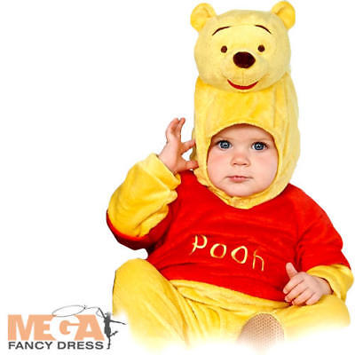 Winnie The Pooh 3-24 Months Infant Fancy Dress Book Day Disney Babies Costume