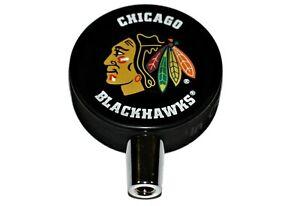 Chicago-Blackhawks-Basic-Logo-NHL-Hockey-Puck-Beer-Tap-Handle