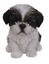 Vivid Arts Pet Pal Dogs ShihTzu Puppy Black & White