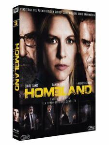 Homeland - Caccia Alla Spia - Stagione 3 - Cofanetto Con 3 Blu Ray - Nuovo