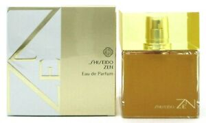 Shiseido ZEN Perfume for Women 3.3 oz. Eau de Parfum Spray New in Sealed Box