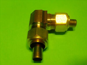 """Brass Compression 90° Male Elbow 1//8/"""" OD Tube x 1//8/"""" NPT Male Pipe Qty 5"""