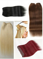 High Quality Halo Hair Extensions 16-20 Invisible Wire 100g Flip In Clip H