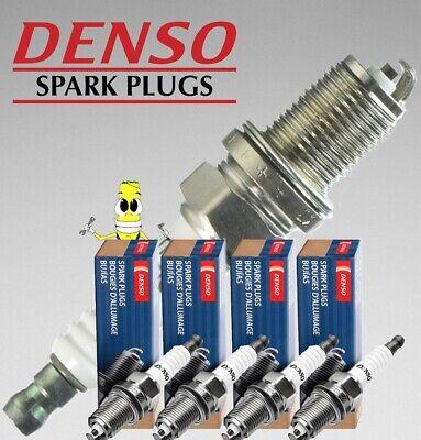Set of 4 Spark Plugs 0.044 Gap Denso 3167 For Honda Civic 1.5L 1.6L L4 1992-1999