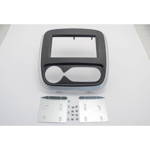 2-din Radioblende Autom.klima Für Opel Vivaro Renault Trafic Nissan Nv300 Ab2014