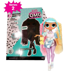 Details About Lol Surprise Omg Fashion Doll Candylicious Series 2