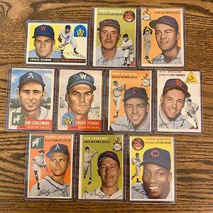 Huge Vintage Baseball Card Investment Lot Rookies RC HOF and Stars