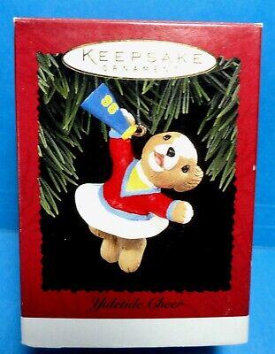1996 Vintage Hallmark Keepsake Cheer Ornament In Original Box