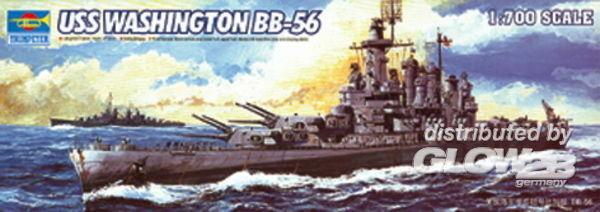 Faller Trumpeter 5735 USS Washington BB-56