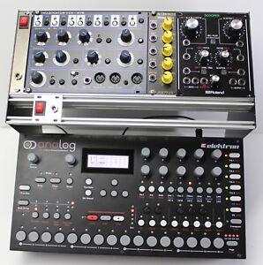Modular Studio 3U EURORACK Combi stand 1 For EURORACK MODULAR SYNTH /& ELEKTRON