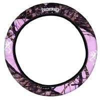 Pink Browning Camouflage Neoprene Steering Wheel Cover - Camo Auto