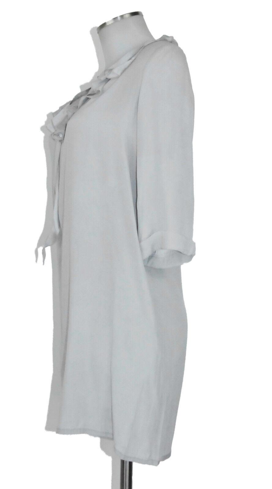 Mr. Mrs. Shirt in L Seide grau mit Glanz Blause Top blouse Top | Schöne Kunst  | Neuheit Spielzeug  | Auktion  | Mittel Preis  | Großartig