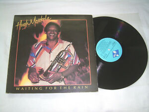 LP - Hugh Masekela Waiting for the Rain - Greece 1985 African Jazz # cleaned - Gladbeck, Deutschland - LP - Hugh Masekela Waiting for the Rain - Greece 1985 African Jazz # cleaned - Gladbeck, Deutschland