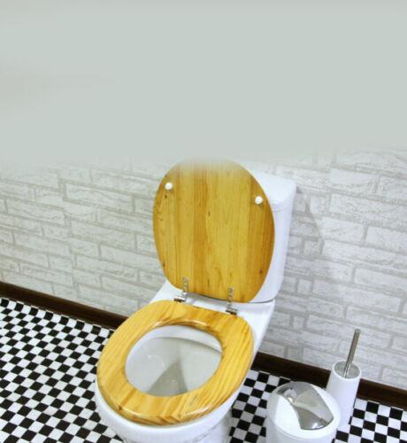 E3 Wooden High-Grade Simple Bathroom Accessories Environmental Toilet Seat Lid Q