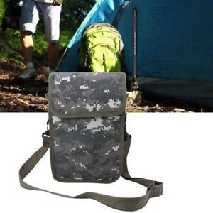 Waterproof Waist Fanny Pack Metal Detecting Finds Pouch Shoulder Camping Bag HE