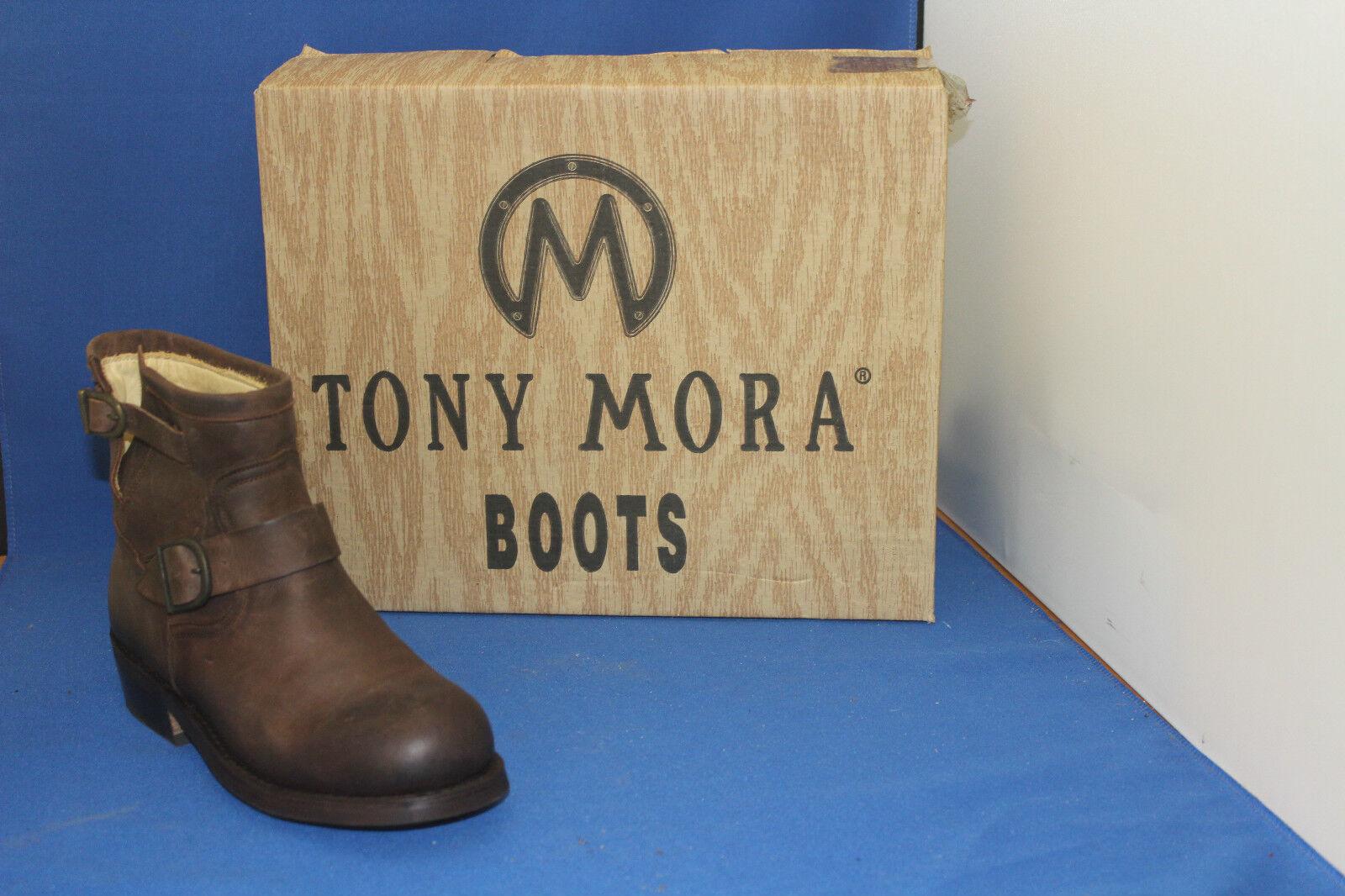Grandes zapatos con descuento tony mora stiefelette westernboots schuh boots  biker engineer neu gr. 40