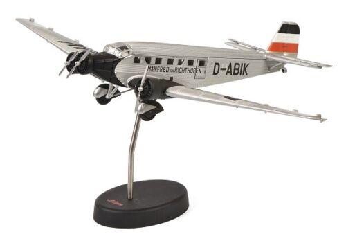 Schuco Aviation 3551800-1//72 Junkers Ju-52//3m Manfred von Richthofen Silber