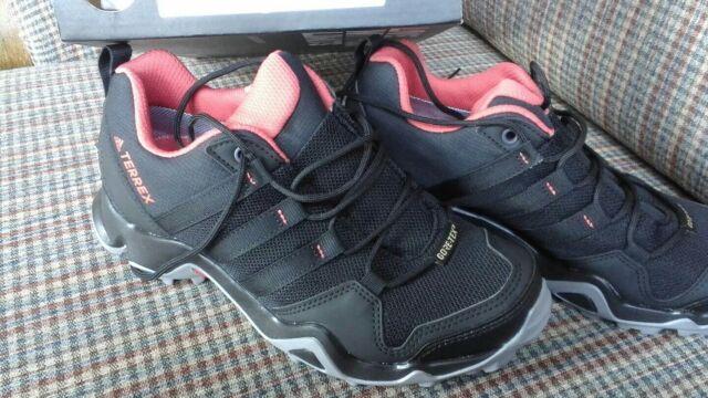 Women's Size 5 adidas terrex AX2R GTX W Gore Tex Hiking Shoes NIB