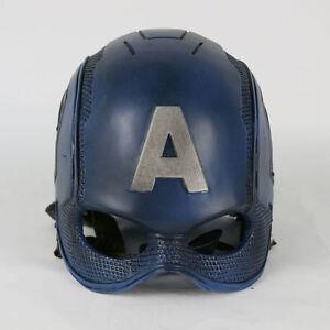 Captain America Mask Avengers Steve Rogers PVC Cosplay Helmet  eBay