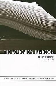 Good-The-Academic-s-Handbook-Paperback-0822338742