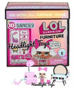 Pleasant Details About 1 Lol Surprise Doll House Furniture Spaces Set Playset Diva Beauty Salon Omg Interior Design Ideas Inesswwsoteloinfo