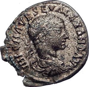 SEVERUS-ALEXANDER-222AD-EMESA-Ancient-Silver-Roman-Coin-Liberalitas-i73389