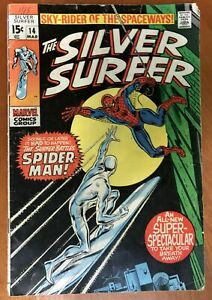 Silver-Surfer-14-GD-VG-3-0-Spider-Man