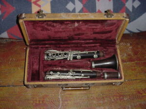 Vintage THIBOUVILLE Freres M Mason Paris Frankreich Holz Klarinette 1930S